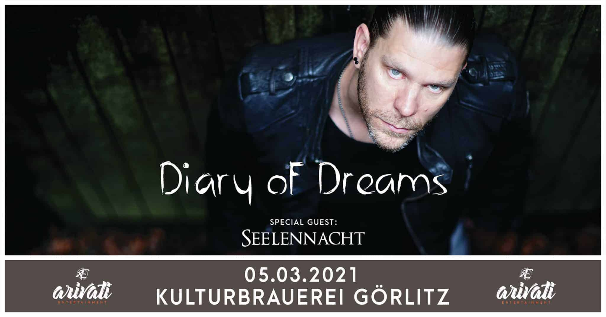 05.03.2021 Diary of Dreams + Seelennacht - Görlitz Kulturbrauerei